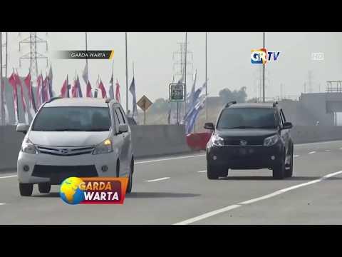 NGAWI  -  Jalan Tol Ngawi Didominasi Arus Mudik  Dari Arah Jawa Tengah