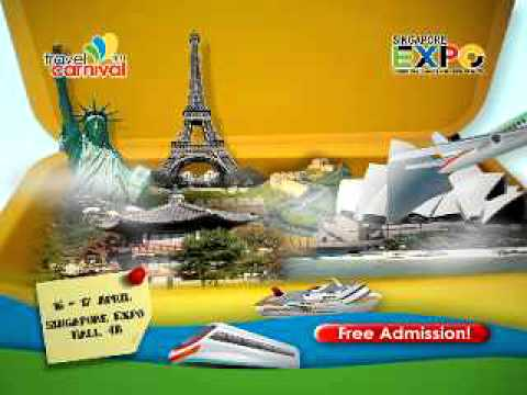 Travel Carnival 2011 at Singapore Expo Hall 4B