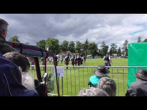 Pipes & Drums of the PSNI European Pipe Band Championships @ Forres2017