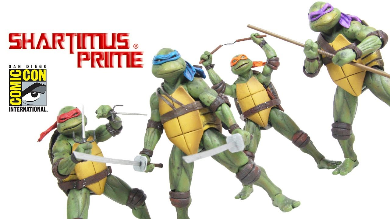 Neca Toys Tmnt Sdcc 2018 Exclusive 7 Inch Scale 1990 Movie Action