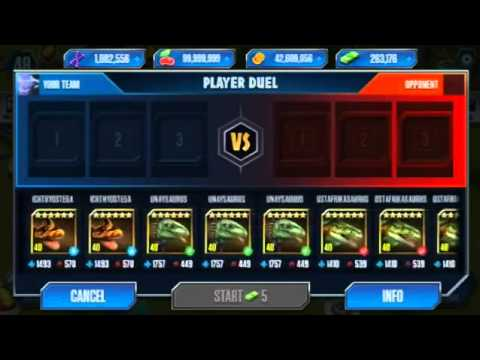 TROPEOGOPTERUS LEVEL 40 HYBRID Jurassic World The Game