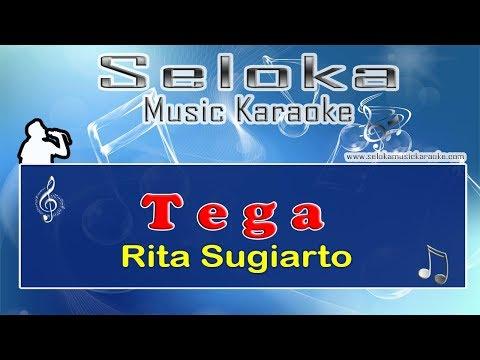Tega - Rita Sugiarto | Karaoke musik Version Keyboard + Lirik tanpa vokal