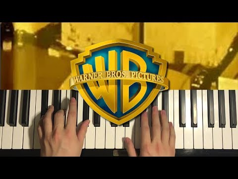 How To Play - Warner Bros Pictures Intro (PIANO TUTORIAL LESSON)