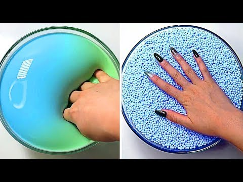 Relaxing Slime Compilation ASMR   Oddly Satisfying Video #78