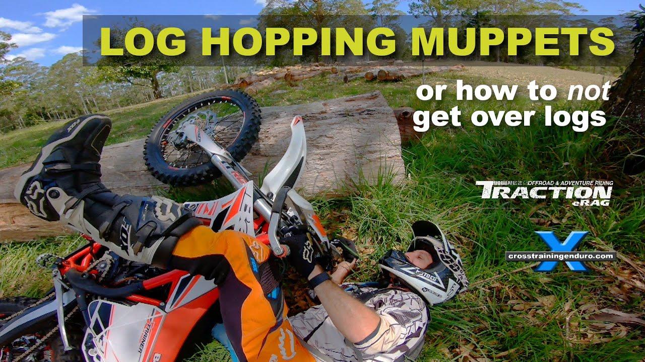 LOG HOPPING MUPPETS Cross Training Enduro shorty