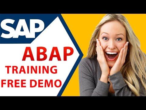 SAP ABAP ONLINE TRAINING - BEST Explanation