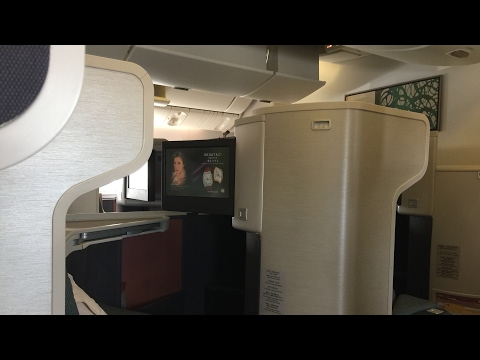 [CX173 HKG-ADL] Cathay Pacific A330 BUSINESS CLASS