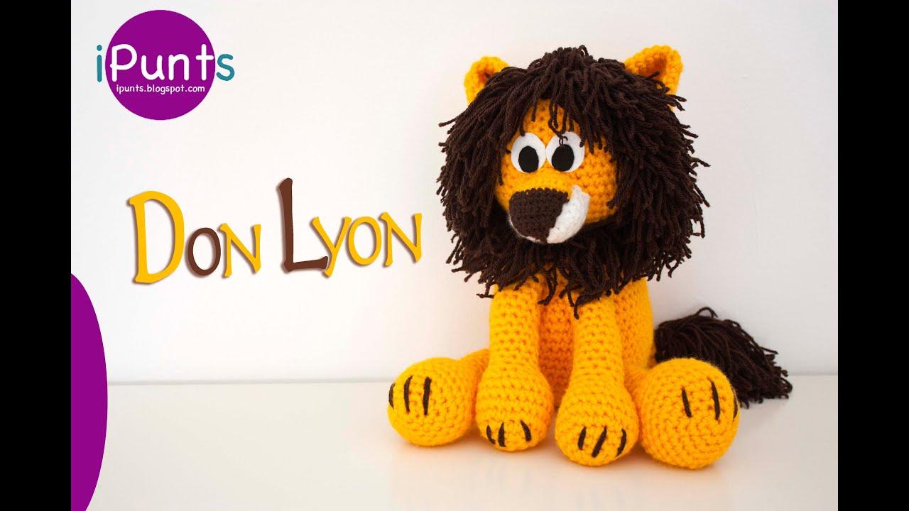 Único Los Patrones De Crochet Libre De León Inspiración - Manta de ...