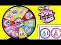 Shopkins Season 8 World Vacation Spinning Wheel Game Surprise Toys