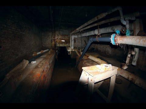 UE - Tunnels Found Beneath Abandoned Insane Asylum