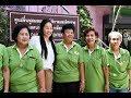 伊達公子さんがタイの日本式介護施設を訪問