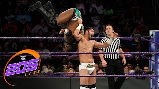Cedric Alexander & Rich Swann vs. Noam Dar & Ariya Daivari: WWE 205 Live, Nov. 21, 2017