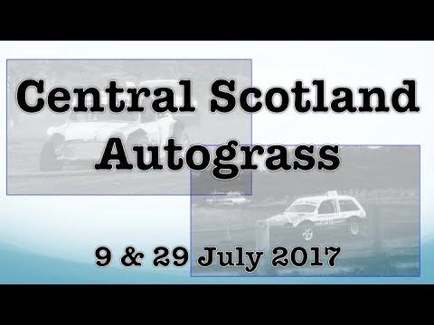 Autograss - Central Scotland - 9 & 29 July 2017