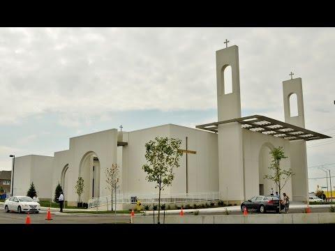 Aramaic  Spoken Jesus language / St. Barsaumo Syriac Orthodox New Church 2015