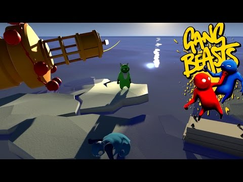 Gang Beasts - We're Stranded [Father and Son Gameplay]