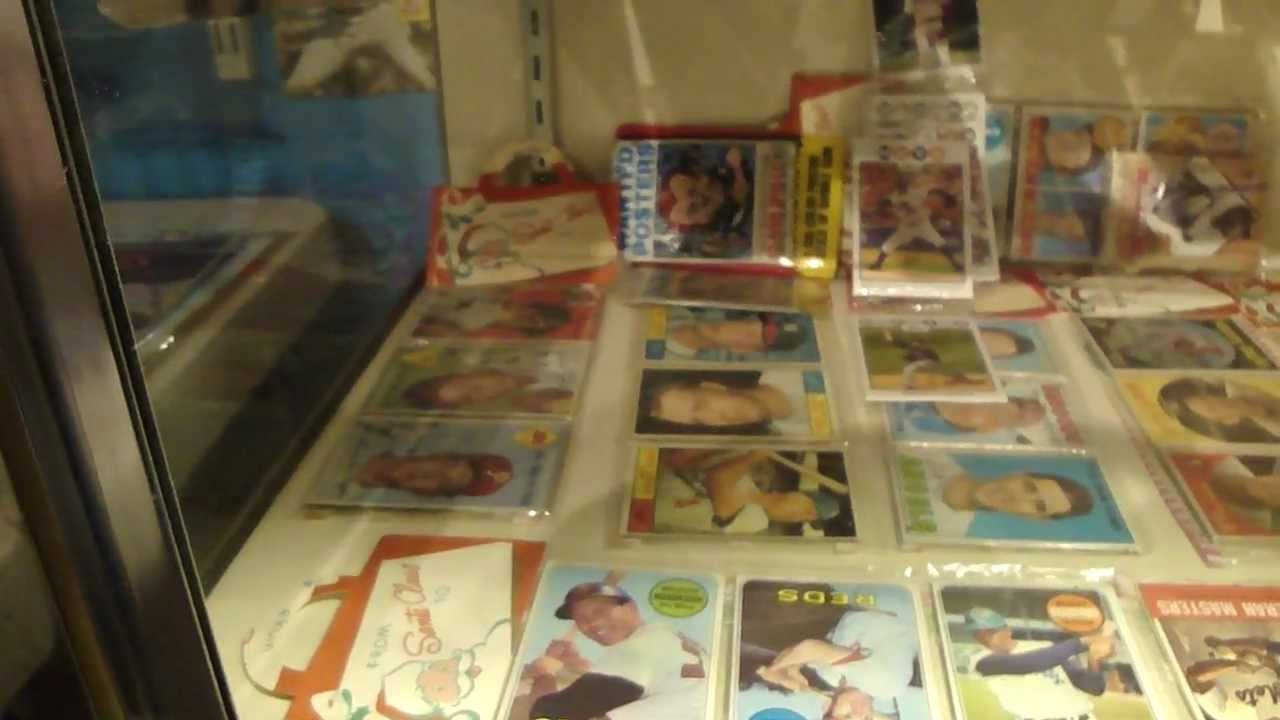 Baseball Card Memorabilia Room Garage Turned Into Mancave Please Comment