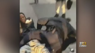 Officials Say Video Shows Assault On Baltimore Police Sergeant