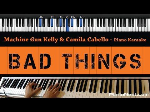 Machine Gun Kelly & Camila Cabello - Bad Things -...