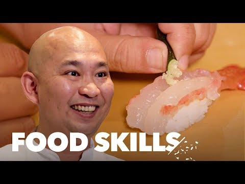 A Sushi Master Breaks Down the 10 Steps to Perfect Nigiri | Food Skills