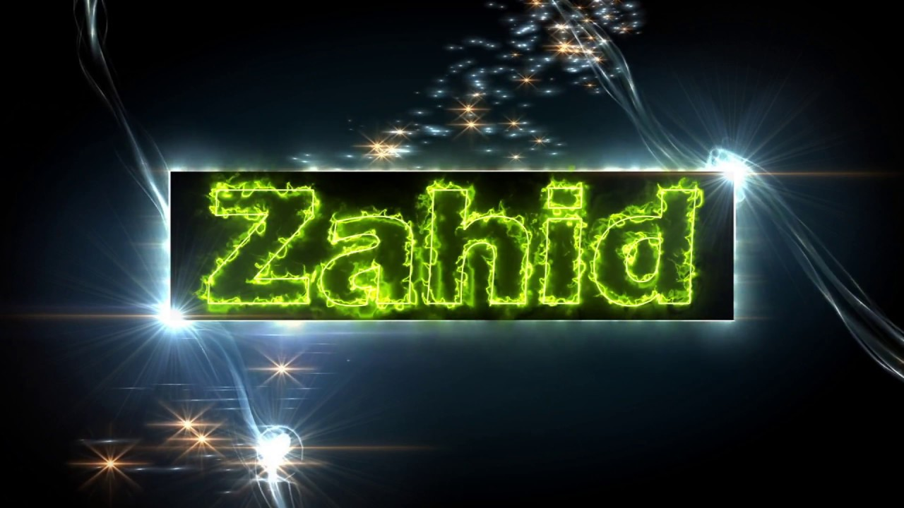 Zahid Name Text Multi Talented Youtube