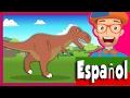 Canción Los Dinosaurios por Blippi Español   Canciones Infantiles Dinosaurios para Niños
