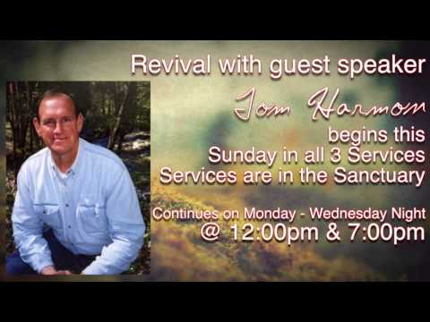 Fall Revival with Tom Harmon!