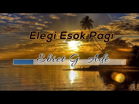 [Midi Karaoke] ♬ Ebiet G. Ade - Elegi Esok Pagi ♬ +Lirik Lagu +No Vocal [High Quality Sound]