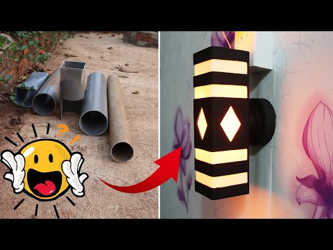 make-wall-lamp-sconce-with-pvc-pipe-👍new👍-make-everything-with-magic-hands