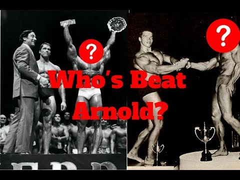 Who Beat Arnold? (The ONLY Bodybuilders To Ever Defeat Arnold)