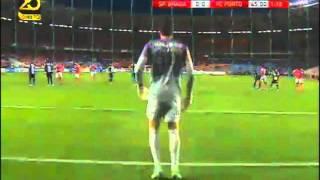 Golo de Alan no FC Porto - Sporting de Braga [Final da Taça da Liga 2012-2013]