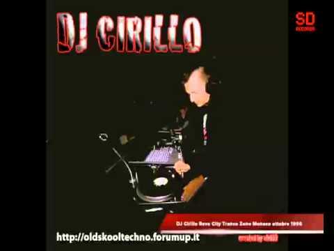 DJ Cirillo Rave City Trance Zone Monaco ottobre 1996