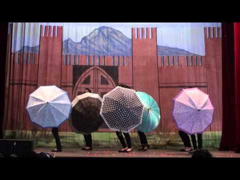Umbrella Dance - Talent Show 2014 ( At Wynberg )