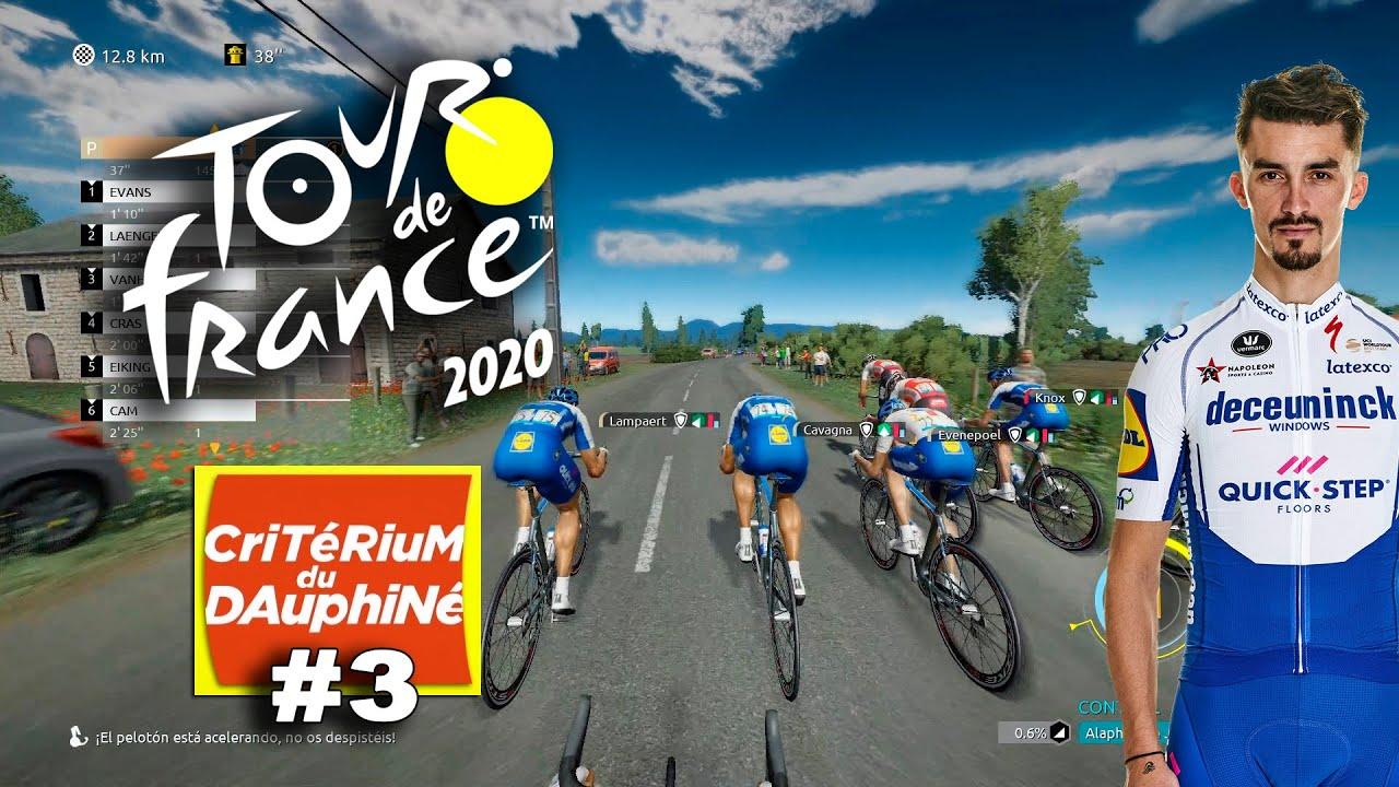 TOUR DE FRANCE 2020 Dauphiné con Alaphilippe #3 VR_JUEGOS