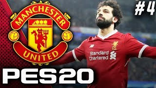 PES 2020 Manchester United Master League EP4 - Facing Liverpool At Anfield!!