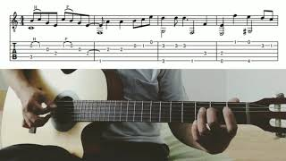 Nothing's Gonna Change My Love For You - George Benson (fingerstyle + lyric + tab)