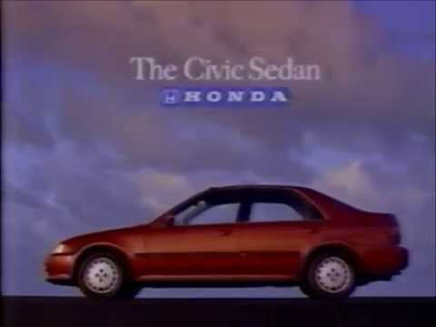 Honda Civic Commercial >> 1993 Honda Civic Commercial