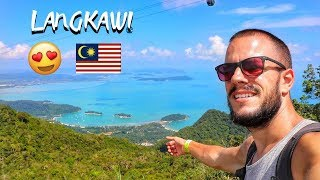 LANGKAWI - The STEEPEST CABLE CAR in the WORLD & SKY BRIDGE ...