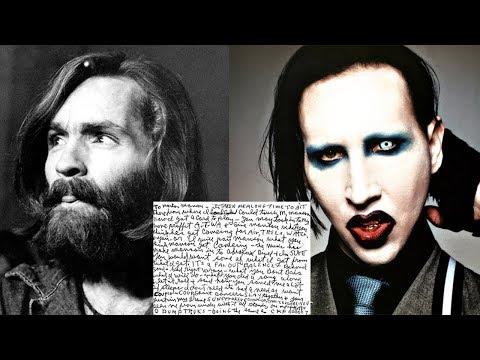 Charles Manson's Secret Letter to Marilyn Manson