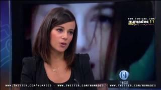 Alizée en entrevista con Javier Alatorre (Hechos TV Azteca)