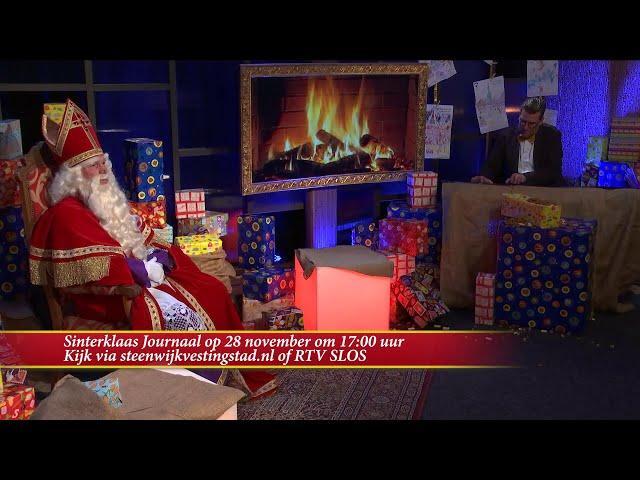 Aankomende zaterdag een nieuwe aflevering van het Sinterklaas Journaal