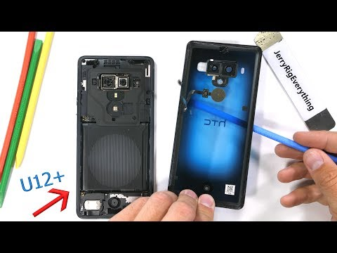 HTC U12 Plus Teardown - Can the 'buttons' be fixed?