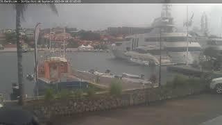 Preview of stream Carribean live stream from Port de Gustavia | Live Cam 2