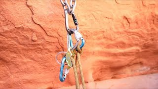 How to Set Up an Anchor Using a Master Carabiner