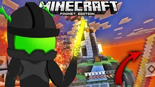 CON ESTO SIEMPRE GANARAS EN SKYWARS! | MINECRAFT POCKET EDITION