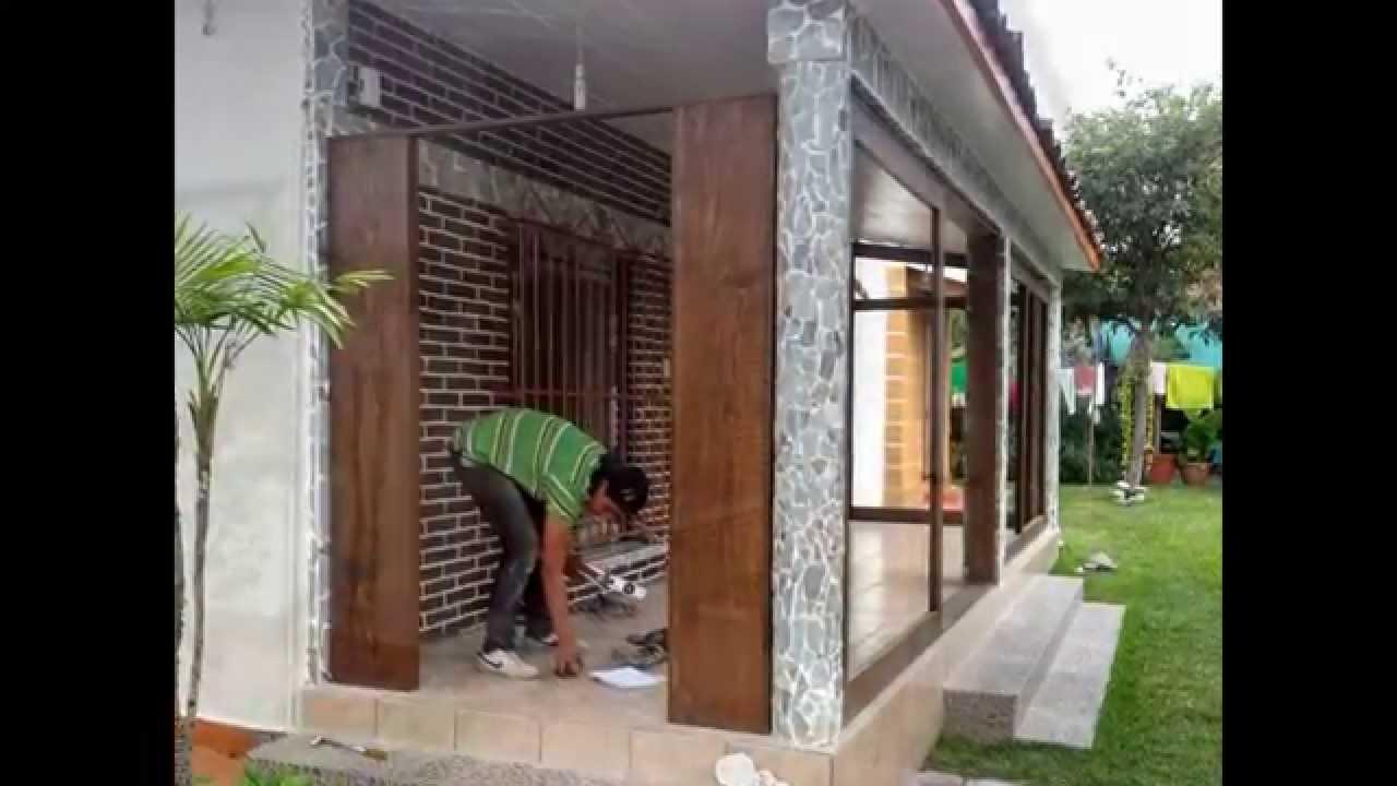 Canceles en madera youtube - Madera tratada para exteriores home depot ...