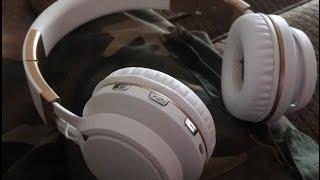 KANEN WIRELESS BT 02 WHITE & GOLD