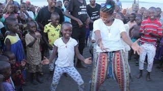 Masaka Kids African - AfroBeat Community Dance Choreography ft Aisha from Kuwait
