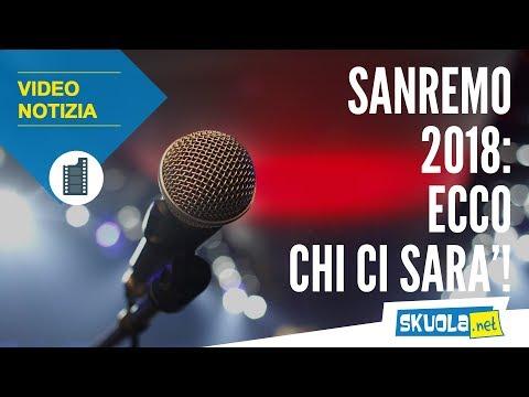 Sanremo 2018: scopri gli artisti (forse) in gara