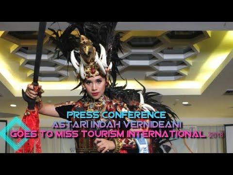 Press Conference Astari Indah Vernideani Goes To Miss Tourism International 2018 Mp3