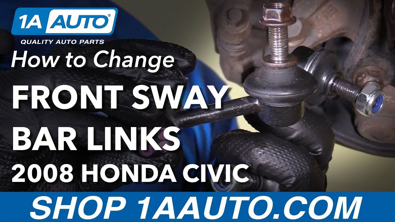 How To Install Replace Front Sway Bar Links 200611 Honda Civic. How To Install Replace Front Sway Bar Links 200611 Honda Civic. Honda. Honda Civic Front End Sway Bar Diagram At Scoala.co